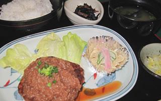 古蓮久留米エマックス店お食事 和風ハンバーグ膳